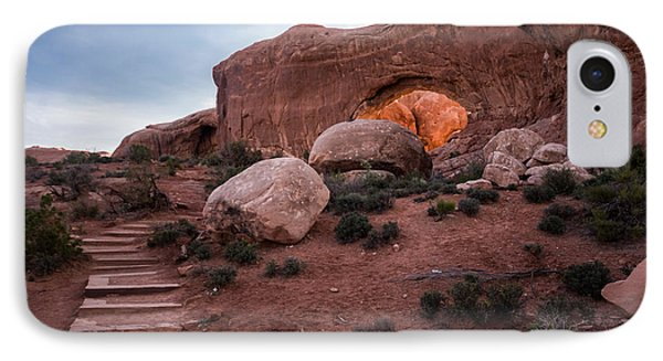 North Window Arch IPhone Case by Jay Stockhaus
