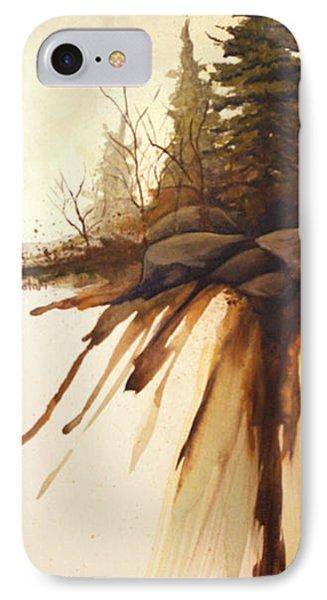 North Woods Pines Phone Case by Rick Huotari
