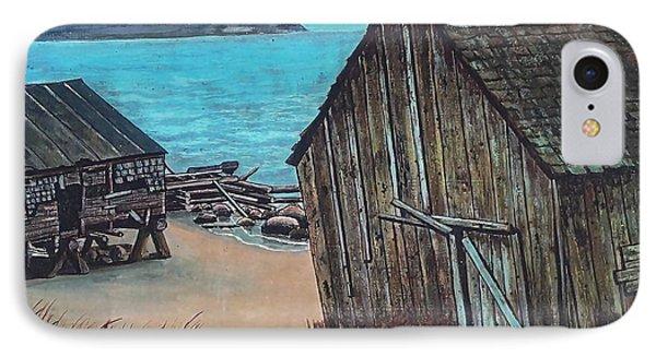 Northeast Coast Beach IPhone Case
