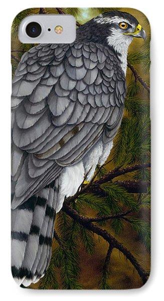 Northern Goshawk IPhone 7 Case by Rick Bainbridge