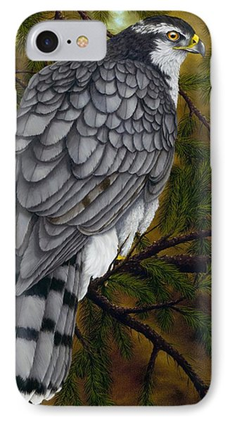 Northern Goshawk IPhone 7 Case by Rick Bainbridge