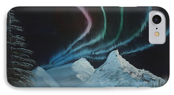 IPhone Case featuring the painting Northern Lights by Ian Donley