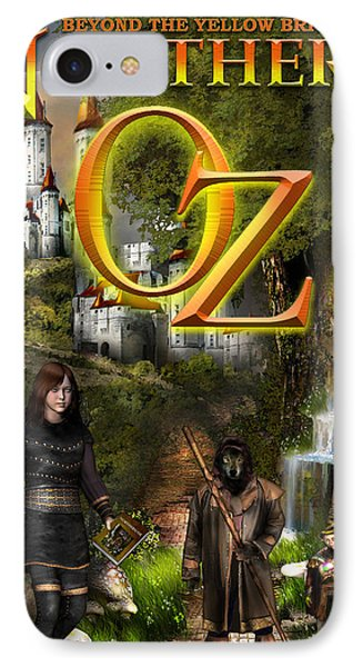 Northern Oz Cover IPhone Case by Vjkelly Artwork