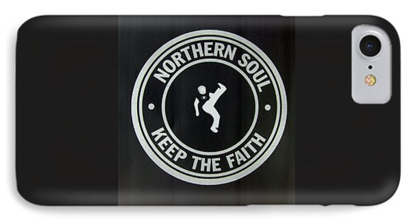 Northern Soul Dancer Inverted IPhone Case