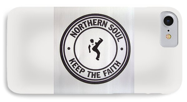 Northern Soul Dancer IPhone Case