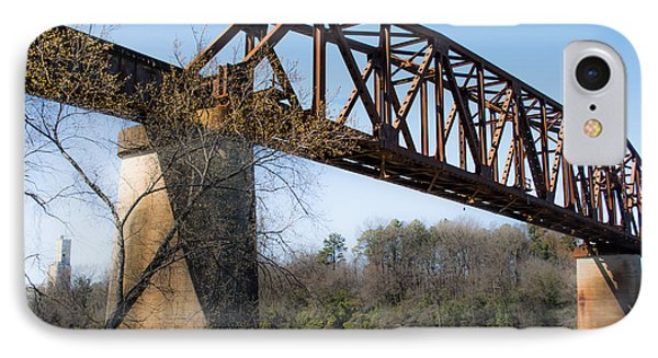 Northport Trestle Over The Tuscaloosa River IPhone Case