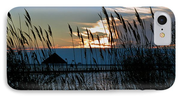 IPhone Case featuring the photograph Ocean City Sunset At Northside Park by Bill Swartwout