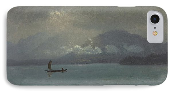 Northwest Coast IPhone Case by Albert Bierstadt