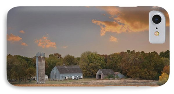 Northwest Iowa Farmscape IPhone Case