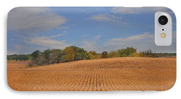 Northwest Iowa Golden Corn Field IPhone Case