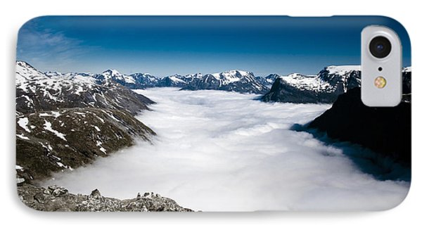 Norway In The Clouds IPhone Case by Bill Howard