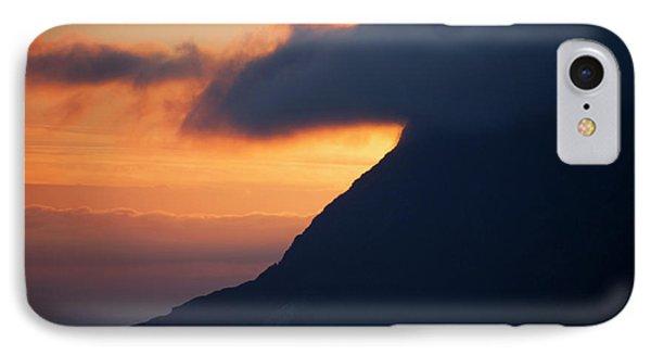 Norway Sunrise Marks Dramatic Coastline IPhone Case
