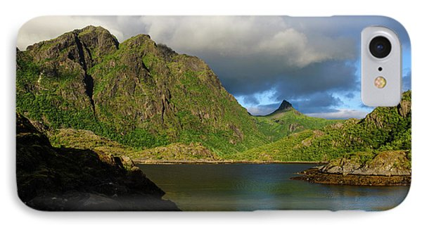 Norway The Sheltered Cove Of Straumhamn IPhone Case by Fredrik Norrsell