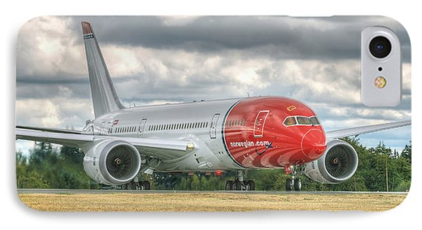 Norwegian 787 IPhone Case