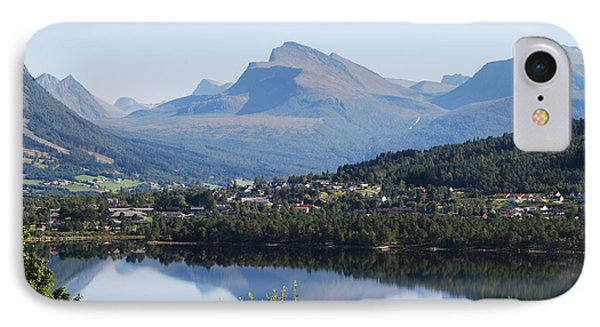 Norwegian Mountain Lake IPhone Case by Ankya Klay