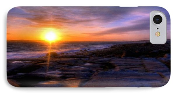 Norwegian Sunset Phone Case by Bruce Nutting