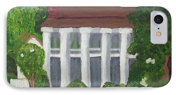 Norwood Plantation Home IPhone Case by Margaret Harmon