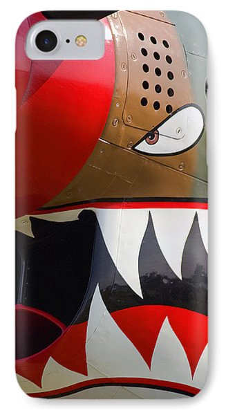 IPhone Case featuring the photograph Nose Art I by Timothy McIntyre