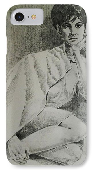 IPhone Case featuring the painting Nostalgic Beauty by Al Brown