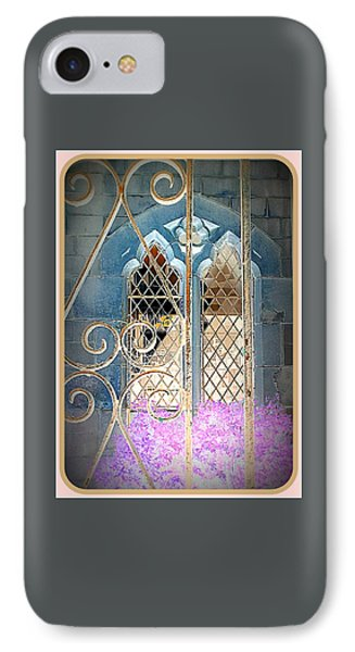 Nostalgic Church Window Phone Case by The Creative Minds Art and Photography