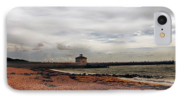 IPhone Case featuring the photograph Not A Beach Day by Don Durfee