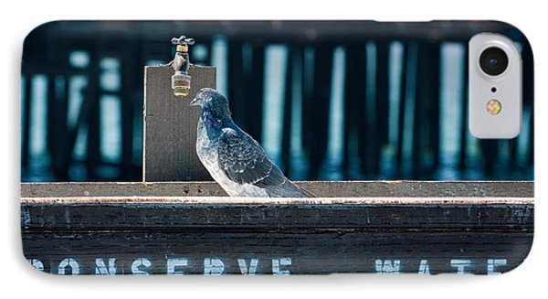 Not A Drop IPhone Case by Joan Herwig