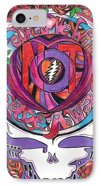 Not Fade Away Phone Case by Kevin J Cooper Artwork