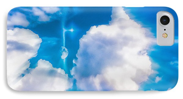 IPhone Case featuring the photograph Not Just Another Cloudy Day by Kellice Swaggerty