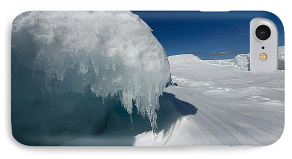 Nothing But Ice Phone Case by Sandra Updyke