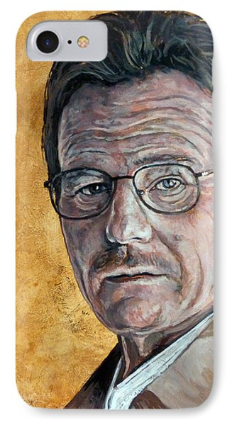 IPhone Case featuring the painting Nothing To Lose by Tom Roderick