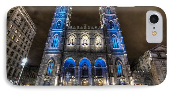 IPhone Case featuring the photograph Notre Dame Basilica In Montreal by Shawn Everhart