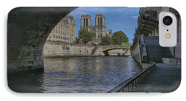 Notre Dame Cathedral IPhone Case by Gary Hall