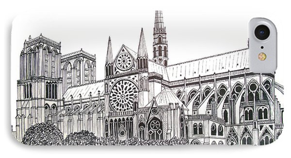 Notre Dame Cathedral - Paris Phone Case by Frederic Kohli