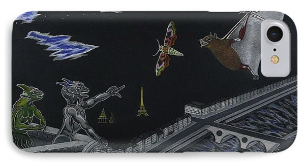 Notre Dame Cathedral While Paris Sleeps IPhone Case