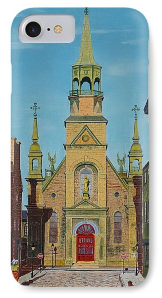 Notre Dame De Bonsecours IPhone Case