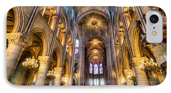 Notre Dame In Paris IPhone Case by Tim Stanley