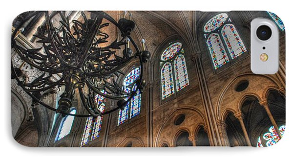 Notre Dame Interior IPhone Case by Jennifer Ancker