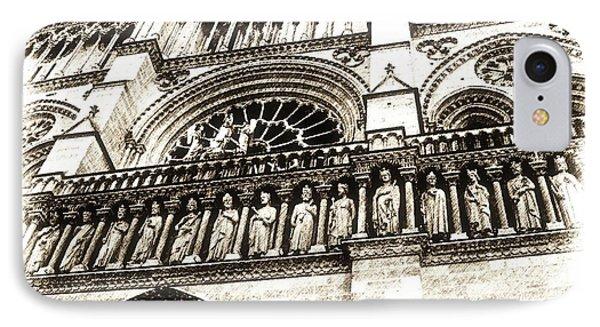 Notre Dame Pencil IPhone Case