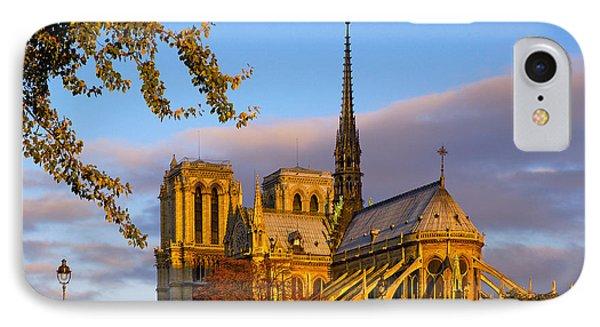 Notre Dame Sunrise IPhone Case
