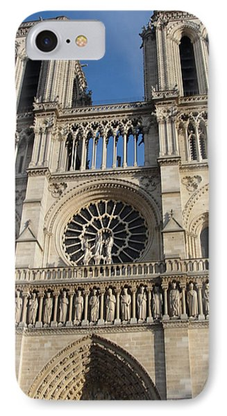 IPhone Case featuring the photograph Notre Dame by Tiffany Erdman