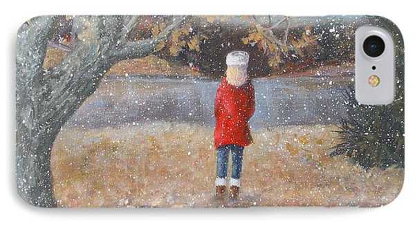 November Flurries IPhone Case