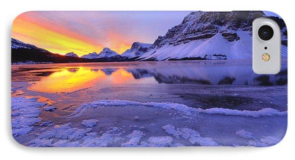 November Freeze IPhone Case by Dan Jurak