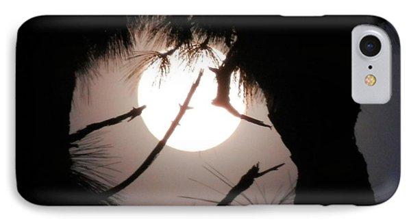 Florida November Full Moon IPhone Case by Belinda Lee