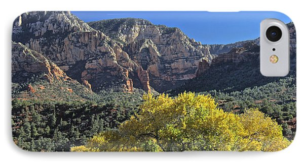 IPhone Case featuring the photograph November In Sedona by Penny Meyers