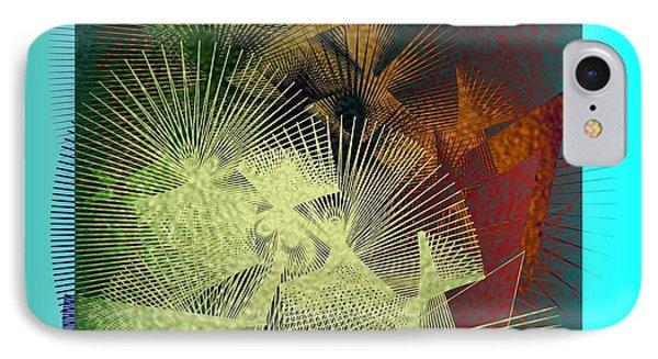 IPhone Case featuring the digital art November by Iris Gelbart