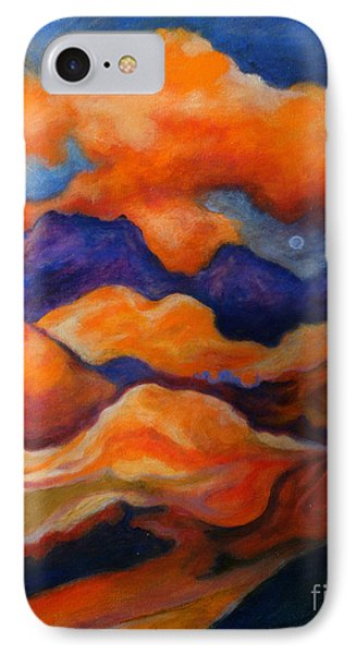IPhone Case featuring the painting November Landscape by Alison Caltrider