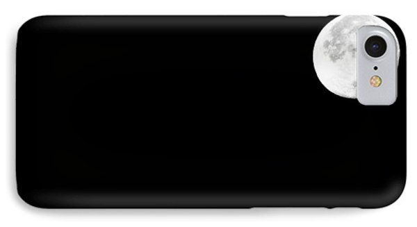November Moon IPhone Case by Michael Nowotny