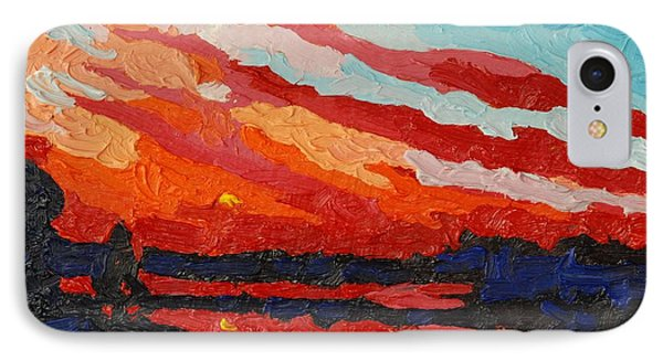 November Sunset IPhone Case by Phil Chadwick
