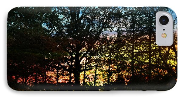 IPhone Case featuring the photograph November Sunset by Rod Seel
