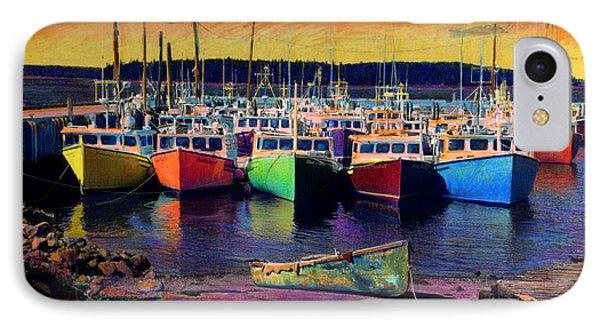 Novi Boats IPhone Case by Cindy McIntyre